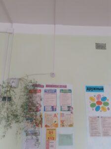 Монтаж Охранно-пожарной сигнализации в школах села Ярково